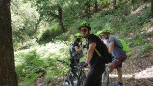 Mountain bike avec DAR EL AIN