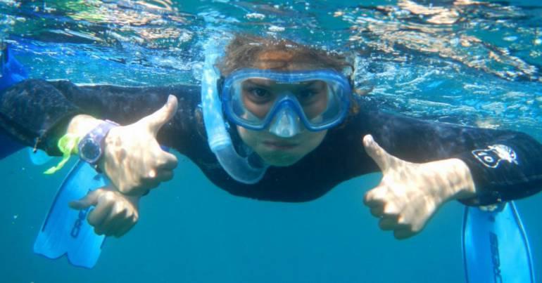 Equipements Snorkeling