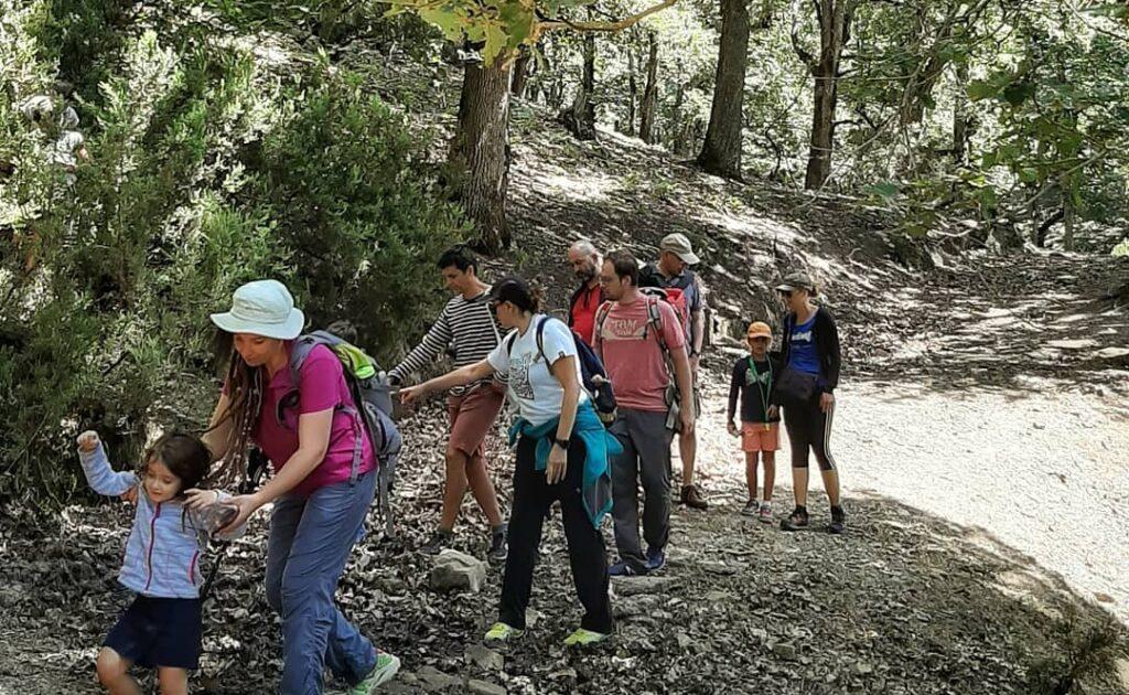 randonnée écotouristique pédagogique