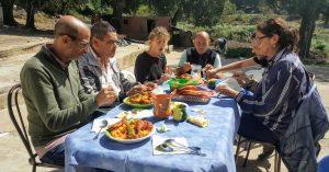Repas traditionnel chez l'habitant DAR EL AIN