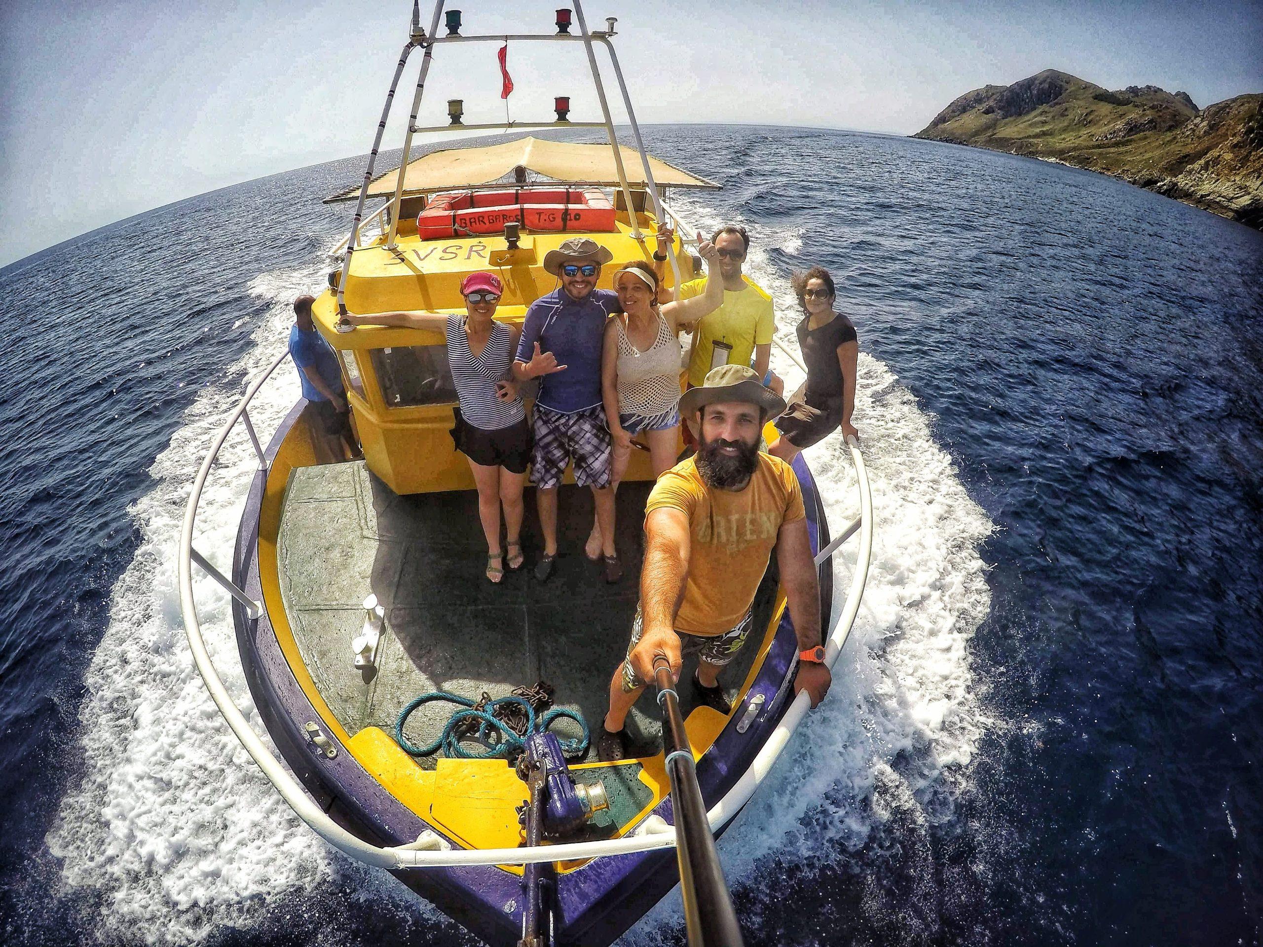 Tour des îlots